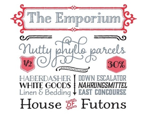 MyFonts: Most Popular Fonts of 2013 | Inspiring Typography | Scoop.it