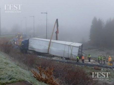 A 36 : un camion de cancoillotte se renverse près de Belfort | The Voice of Cheese | Scoop.it