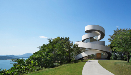 India Art n Design Global Hop : When two become one: Ribbon Chapel | Architecture-Modern | Scoop.it