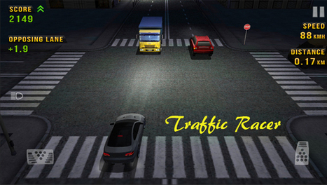 Traffic racer - How fast can you go in traffic - Game Review | Trending App Industry News | Scoop.it