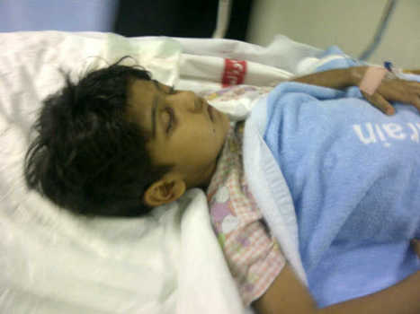 Al-Khalifa terrorists shoot a 4 year old child in an attempt to blind him!  #Bahrain   Human Rights and the Will to be free   Scoop.it