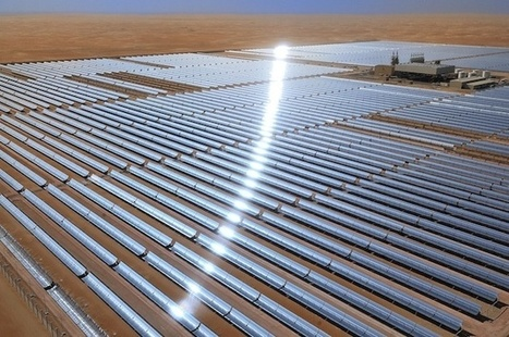 The World's Biggest Solar Power Plant in Abu Dhabi | green streets | Scoop.it