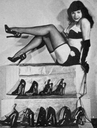 Bettie Page's Birthday Celebration Is A Shoe In! | Sex~Kitten.net | Sex History | Scoop.it