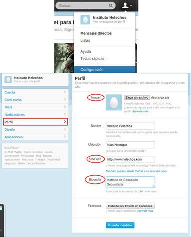 Twitter para centros educativos 1/2 | Redes Sociales en educación | Scoop.it