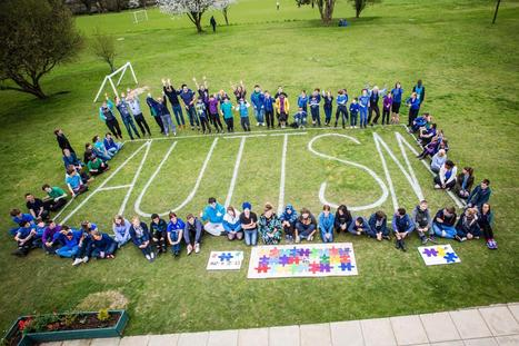 School turns blue to promote autism awareness (From The Argus)   brighton togs   Scoop.it
