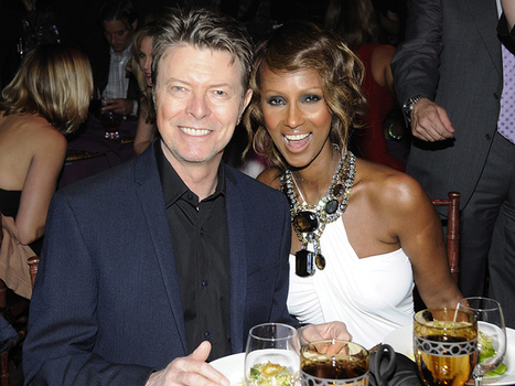 David Bowie Leaves Wife Iman Nearly Half of His $100 Million Fortune in Will: Report | B-B-B-Bowie | Scoop.it