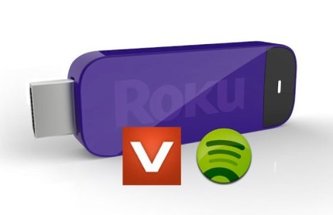 Roku gets a major dose of music: adds new Spotify & Vevo channels | Big Media (En & Fr) | Scoop.it