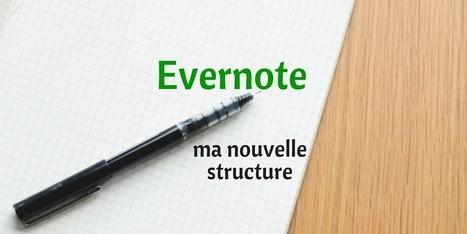 Ma nouvelle structure Evernote - Les Outils Numériques | BàON - la Boite à Outils Numériques | Scoop.it