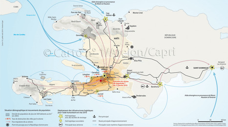 Haïti après le séisme (Carto - Le Monde en cartes)   Risques et Catastrophes naturelles dans le monde   Scoop.it
