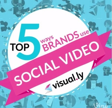 The Top 5 Ways Brands Use Social Video | Visually Blog | Public Relations & Social Media Insight | Scoop.it