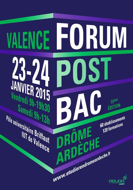 Portail Étudier en D-A - Forum Post-Bac - 23 et 24 janvier 2015   Orientation past-bac   Scoop.it