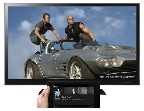Google repart à l'assaut de la TV avec Chromecast | Révolution numérique & paysage audiovisuel | Scoop.it