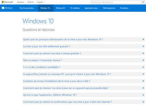 FAQ et conseils sur Windows10 - Microsoft | ICT | FAQ's | eSkills | Free Tutorials in EN, FR, DE | Scoop.it