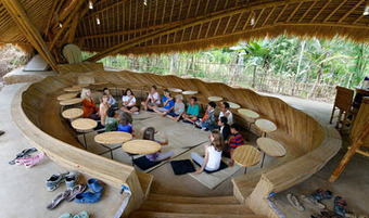 Unusual learning spaces around the world: Pick your classroom!   The Timpany Blog   Digital Cultures   Scoop.it