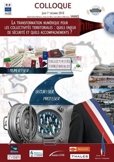 La transformation numérique pour les collectivités territoriales : quels (...) - LA CHAIRE CYBERDÉFENSE   Renseignements Stratégiques, Investigations & Intelligence Economique   Scoop.it