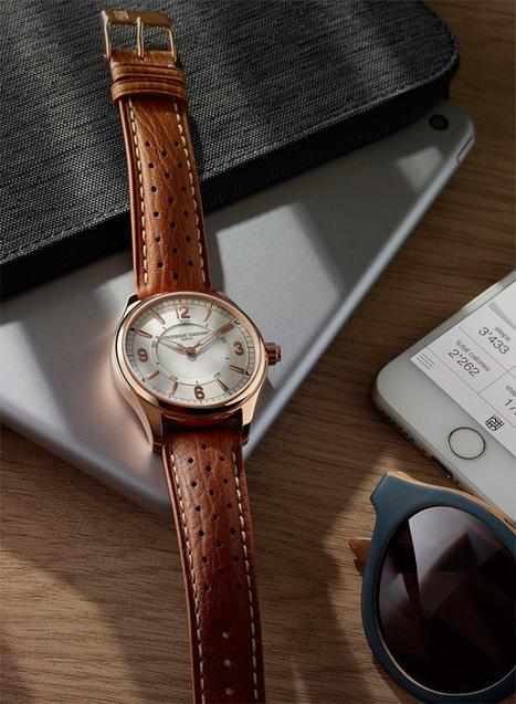 Frederique Constant - The 7 exclusive journal Horological Smartwatch version 2.0 pour hommes. | Passion News Frédérique Constant | Scoop.it