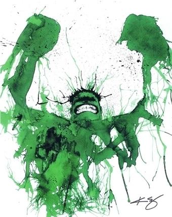 Hulk, in Jason WGavin's Artist: Kevin Eslinger Comic Art Gallery Room - 1195405 | Savvy Comics | Scoop.it