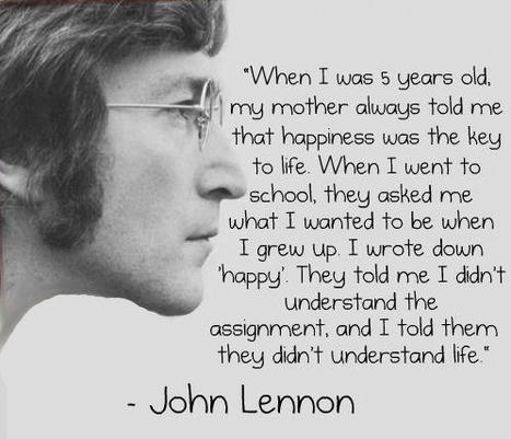 John-Lennon-happy.jpg (498x428 pixels) | Inspiring, Creative People | Scoop.it
