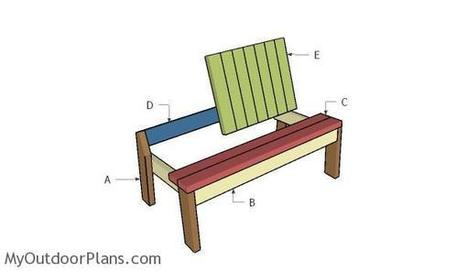 2x4 Garden Bench Plans | MyOutdoorPlans | Free Woodworking Plans and Projects, DIY Shed, Wooden Playhouse, Pergola, Bbq | Garden Plans | Scoop.it