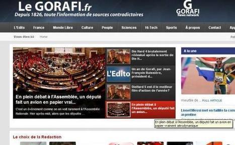 Les sites parodiques comme le Gorafi sont-ils si inoffensifs? | Bienvenue dans le journalisme contemporain | Scoop.it