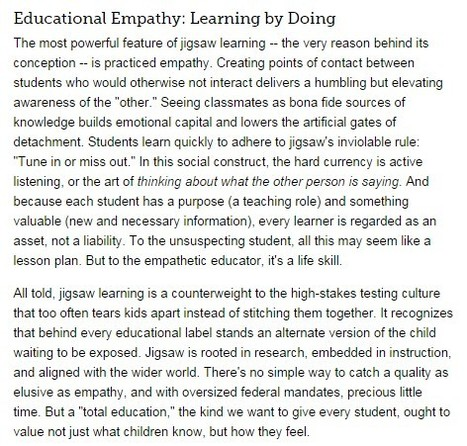 Teaching Empathy: Turning a Lesson Plan into a Life Skill | Network Leadership | Scoop.it