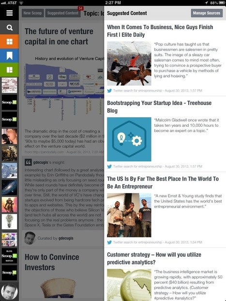 Inspiration wants to be free — news for iPad users | Tools and Gear | Scoop.it