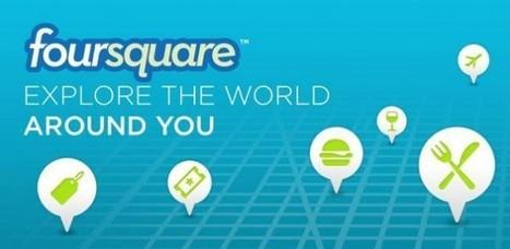 Foursquare si aggiorna e riporta i punti nei check-in | Tecnologie: Soluzioni ICT per il Turismo | Scoop.it