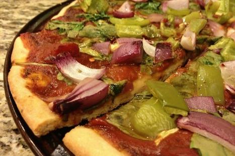 Spelt Pizza With Roasted Veggies [Vegan] | My Vegan recipes | Scoop.it