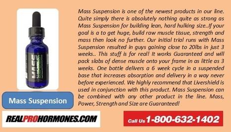 Real Prohormones Mass Suspension | Real Prohormones | Scoop.it