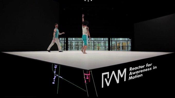 Reactor for Awareness in Motion (RAM) - YCAM InterLab + Yoko Ando Joint R&D