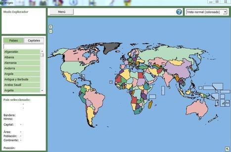 Aprende geografía con Enigeo - Neoteo | Ámbito Científico | Scoop.it