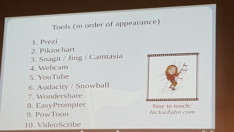 10 Free (or Cheap) Tools to Make Your eLearning Amazing with Jackie Zahn - Event Recap | ATDChi News | Scoop.it