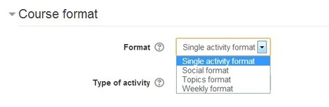 Moodle Single Activity Format   Moodle Learning Management System   Scoop.it