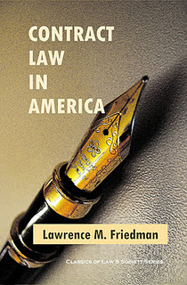 Contract Law in America: The Anniversary Edition | Bloghistosphère | Scoop.it