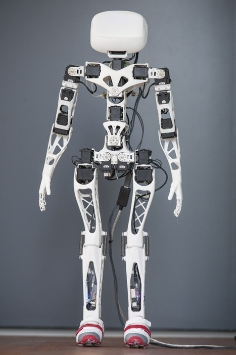 3ders.org - Poppy: Open source 3D printed humanoid robots | 3D Printer News & 3D Printing News | DIY arduino et raspberry | Scoop.it