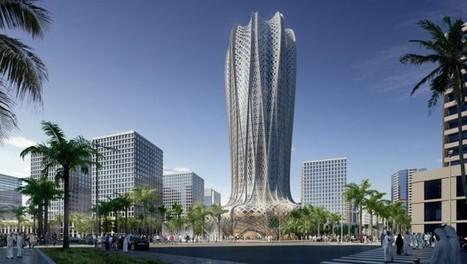 Au Qatar, Zaha Hadid fait éclore la fleur du désert | Construction l'Information | Scoop.it