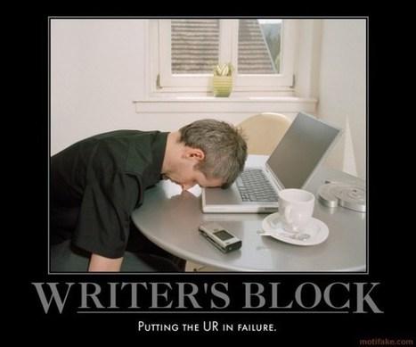 Overcoming writer's block « Cristian Mihai | Human Writes | Scoop.it