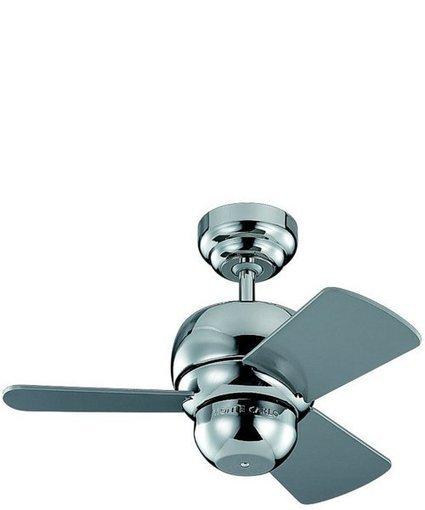 "Monte Carlo 24""w Micro 24 Ceiling Fan Polished Nickel | Home - Office Accessories | Scoop.it"