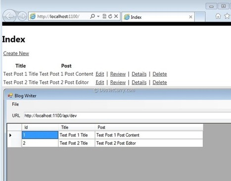 Using Microsoft Web API from a Windows and WinRT Client Application   AspNet MVC   Scoop.it