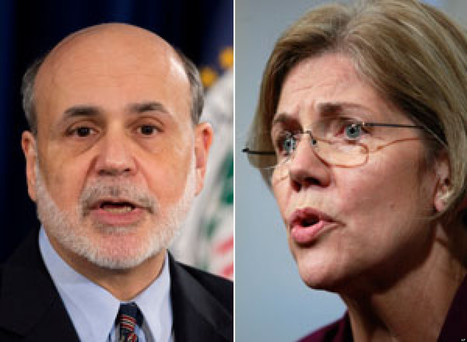 Bernanke Surrenders To Elizabeth Warren On Too Big To Fail | oAnth's day by day interests - via its scoop.it contacts | Scoop.it