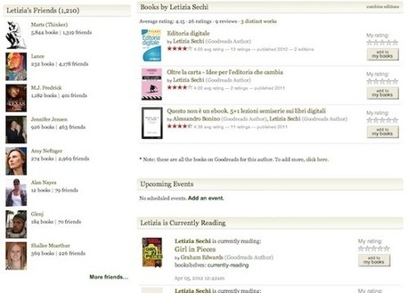 Here's Another Fast-Growing Social Network: Goodreads | LibraryLinks LiensBiblio | Scoop.it