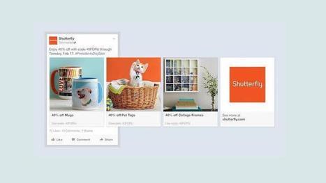 Facebook lance de nouvelles pubs pour inciter au shopping   Bid management story   Scoop.it