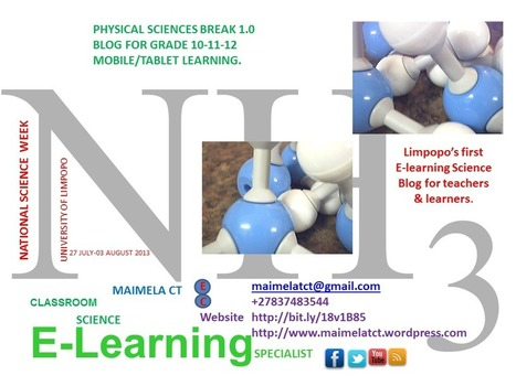 Introduction | PHYSICAL SCIENCES BREAK 1.0 | Scoop.it