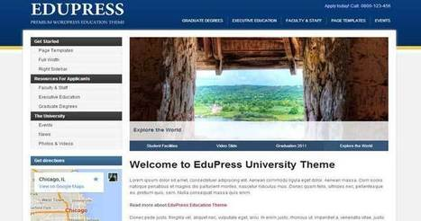 Education WordPress Themes For Schools, Colleges & Universities | WordPress Themes | Scoop.it