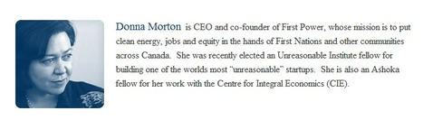 Canadian CEO Donna Morton on her Vision & Passion for First Power - Must See Video | MILE HIGH Social Media | Scoop.it