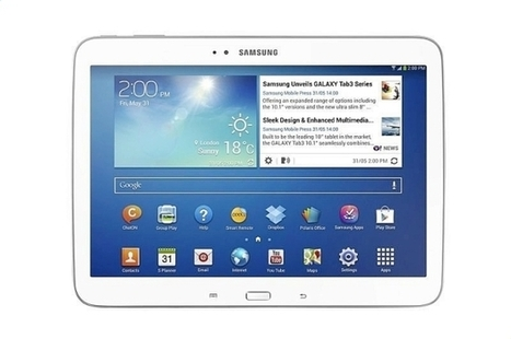 New Samsung Galaxy 3 tablets mimic phones, has Intel chip | Apple | Scoop.it