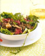 Recette Cuisine Koocook | Salade de pleurotes et de gésiers confits | Very Important Pleurotes... des bois à chez moi | Scoop.it