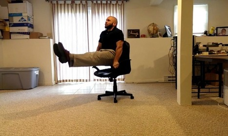 Chair Exercises For Your Core – Home Fitness Workouts   Anything Fitness   Scoop.it