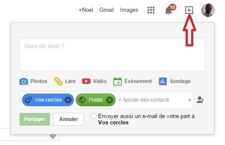 Google+ facilite le partage de contenu depuis plusieurs produits Google - #Arobasenet | Going social | Scoop.it