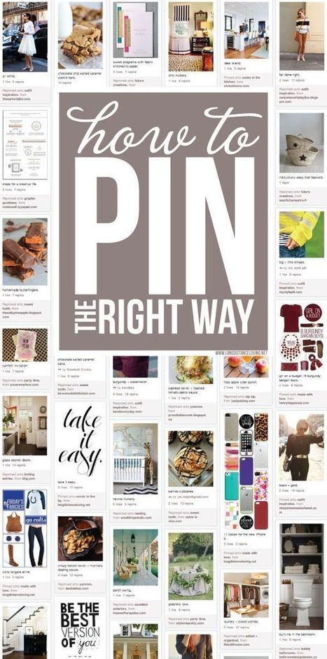 How to Pin the right way on Pinterest | Pinterest | Scoop.it